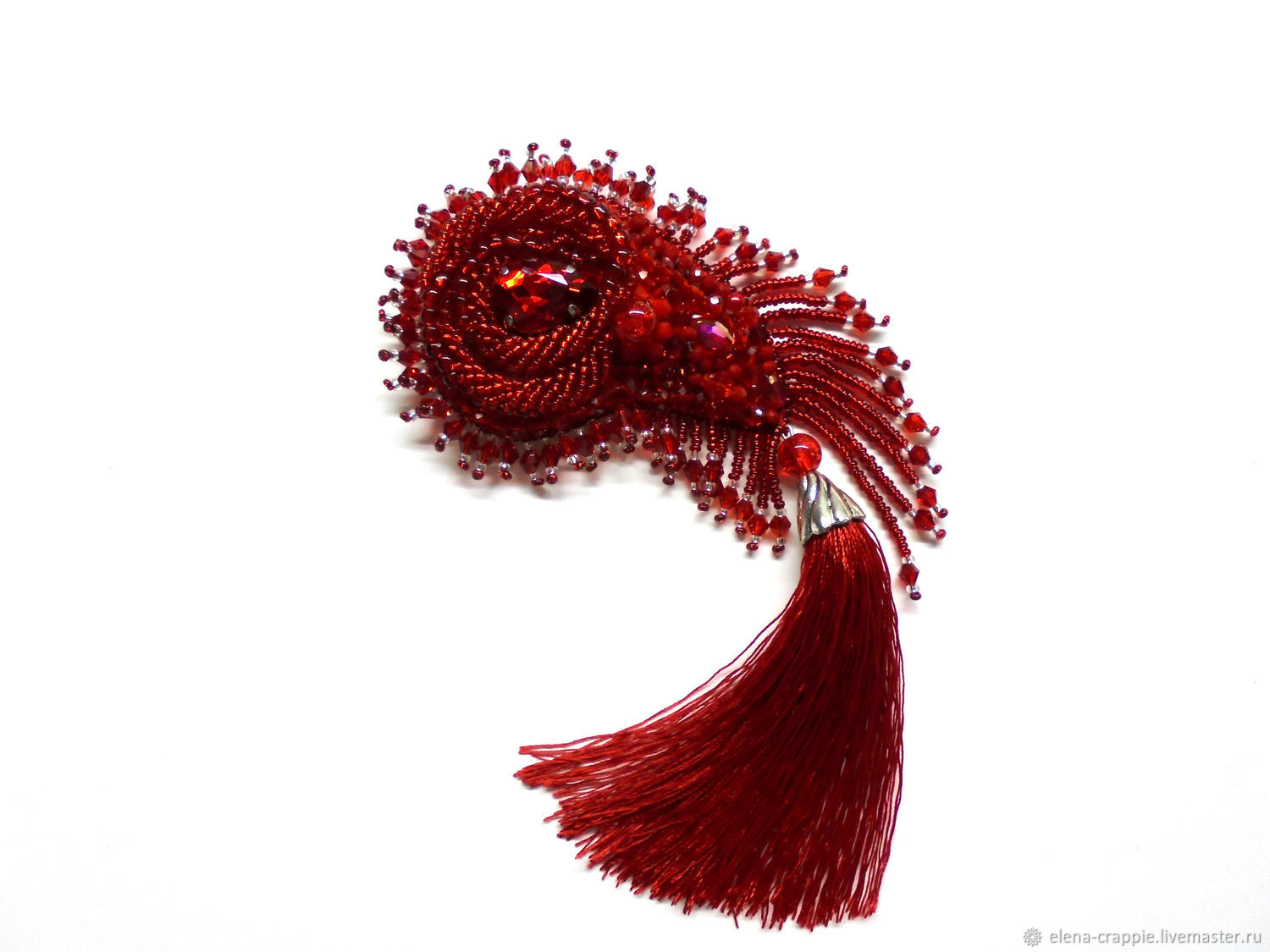 Brooch ' feather of the Firebird's ', Brooches, Volgodonsk,  Фото №1
