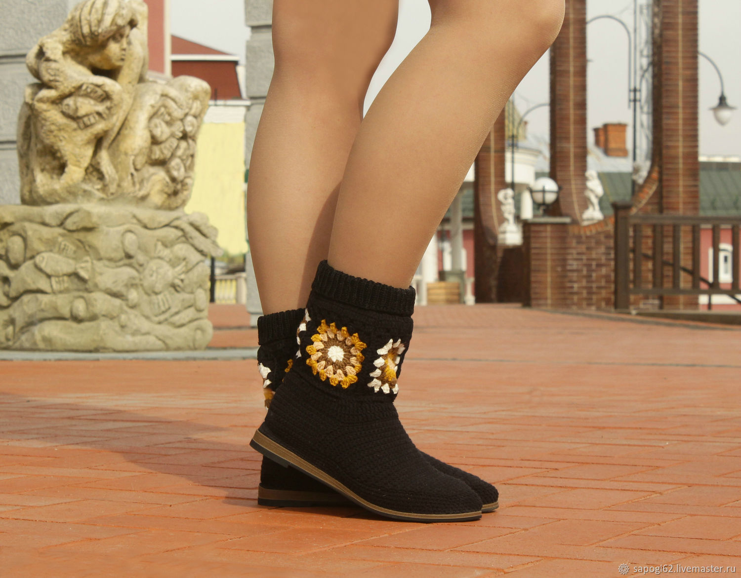 Summer ankle boots 'Vanessa', High Boots, Ryazan,  Фото №1