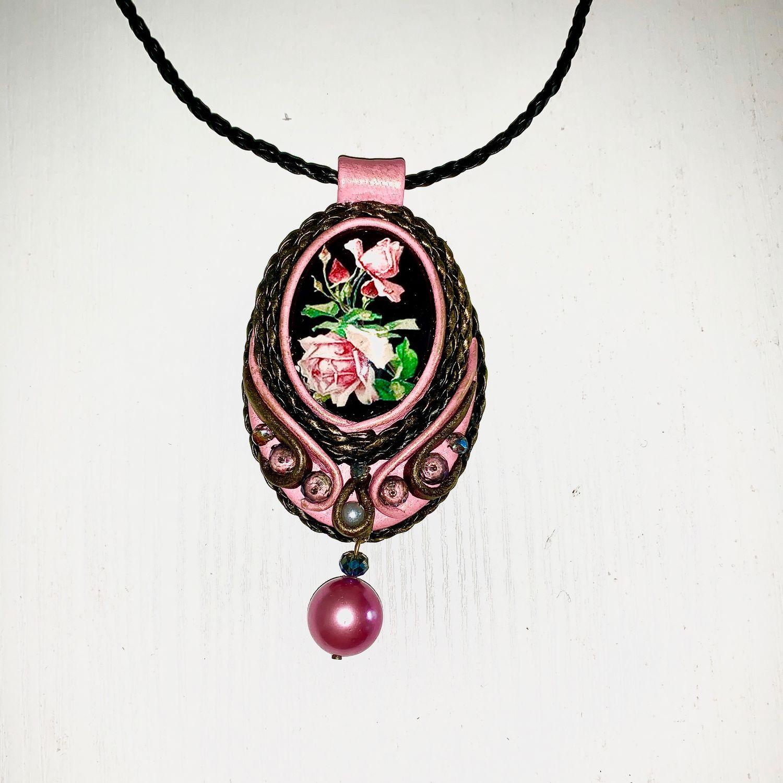 Rose, Pendant, Kaluga,  Фото №1