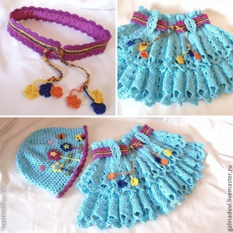 Childrens Knitted Belt Shop Online On Livemaster With Shipping