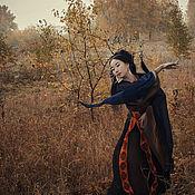 """Украшения ручной работы. Ярмарка Мастеров - ручная работа Канзаши для волос """"Танцующая под дождем"""".. Handmade."""
