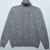 Пуловеры ручной работы. Ярмарка Мастеров - ручная работа Пуловер с высоким воротником. Handmade.