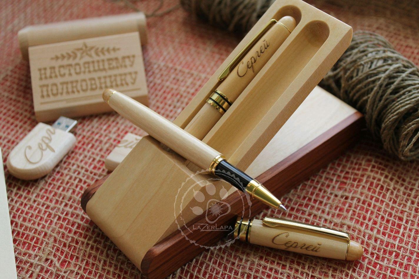 Ручка именная в футляре с именной гравировкой 2 шт готовый подарок, Именные сувениры, Тверь,  Фото №1