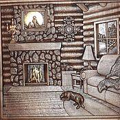 Картины и панно ручной работы. Ярмарка Мастеров - ручная работа Резное дерево_Мечта. Handmade.