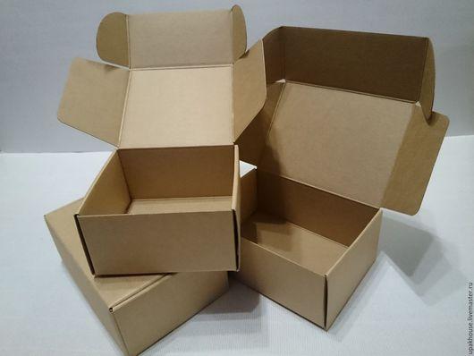 Упаковка ручной работы. Ярмарка Мастеров - ручная работа. Купить Самосборные коробки с ушками. Handmade. Простая упаковка, коробочка для упаковки