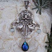handmade. Livemaster - original item Silver pendant