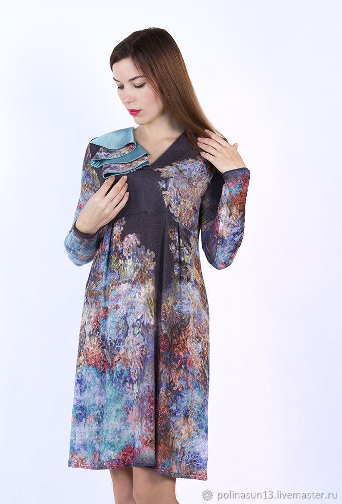 """Бирюзовое платье """"Forest"""", Платья, Москва,  Фото №1"""