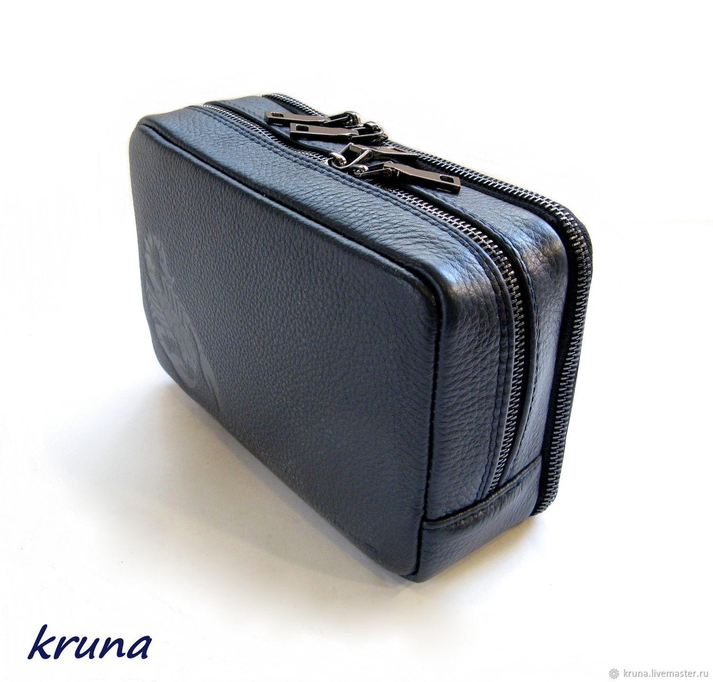 e804cc762e5b Купить Мужская сумка-барсетка Мужские сумки ручной работы. Мужская сумка-барсетка  для документов с тиснением