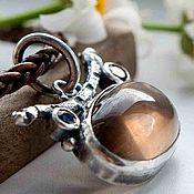 Украшения ручной работы. Ярмарка Мастеров - ручная работа Кулон подвеска серебро из натуральных камней серебряная из серебра. Handmade.