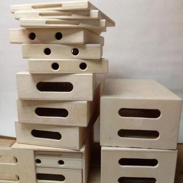 Дизайн и реклама ручной работы. Ярмарка Мастеров - ручная работа Apple Box - Эпл бокс подставки кино/фото ящики. Handmade.