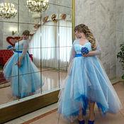 Одежда ручной работы. Ярмарка Мастеров - ручная работа Платье свадебное большого размера  Дарья. Handmade.