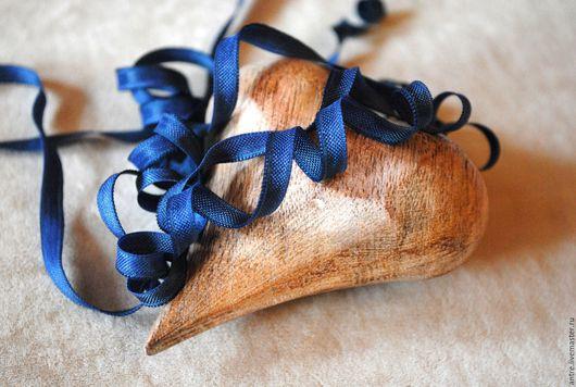 Шитье ручной работы. Ярмарка Мастеров - ручная работа. Купить Лента-резинка Синяя (Франция). Handmade. Лента, ленты для украшений