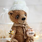 Куклы и игрушки ручной работы. Ярмарка Мастеров - ручная работа Мишка Хани авторская игрушка. Handmade.