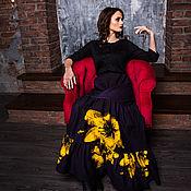 Одежда handmade. Livemaster - original item ss2017 skirt tiered
