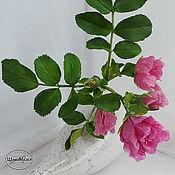 Цветы и флористика handmade. Livemaster - original item A rose from polymer clay. Handmade.