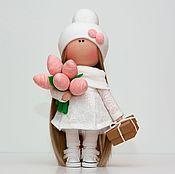 Куклы и игрушки handmade. Livemaster - original item Textile interior doll. Handmade.