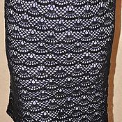 """Одежда ручной работы. Ярмарка Мастеров - ручная работа юбка """"Черная ночь"""". Handmade."""