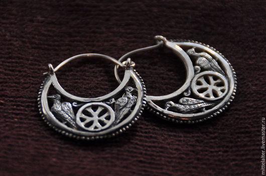 Серебряные серьги -1500 руб.