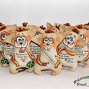 Куклы и игрушки ручной работы. Ярмарка Мастеров - ручная работа Собаки ушастые. Handmade.