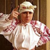 Русский стиль ручной работы. Ярмарка Мастеров - ручная работа Рубаха брянская. Handmade.
