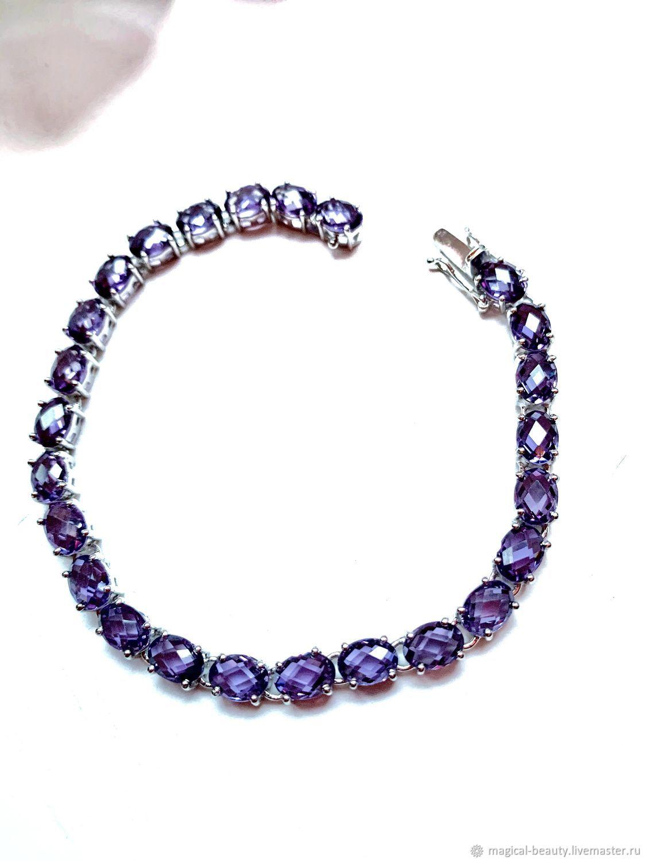 Alexandrite bracelet, Bead bracelet, Moscow,  Фото №1