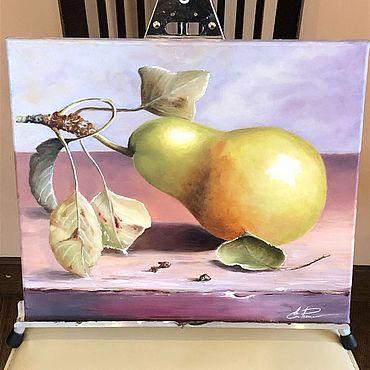 Картины и панно ручной работы. Ярмарка Мастеров - ручная работа Груша. Handmade.