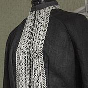 Одежда ручной работы. Ярмарка Мастеров - ручная работа Платье льняное в русском стиле. Handmade.