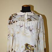 Одежда ручной работы. Ярмарка Мастеров - ручная работа Нежная ретро-блузка. Handmade.
