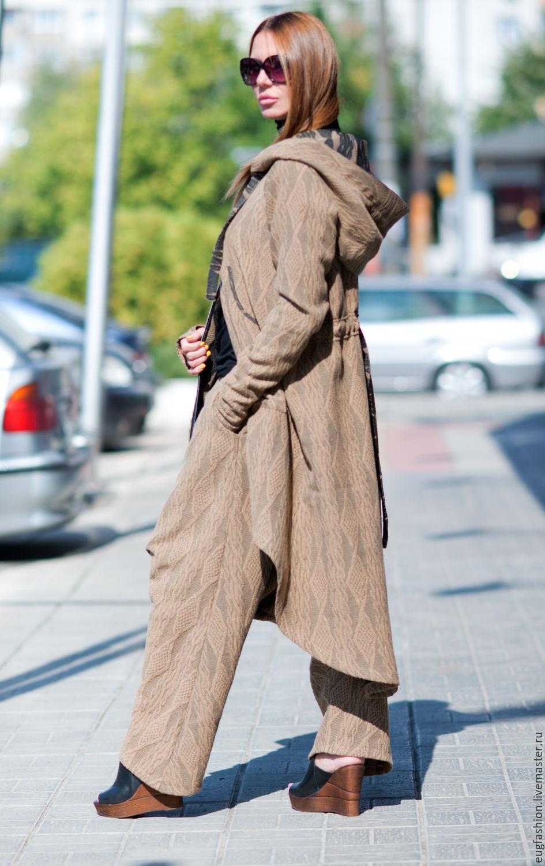 Костюм женский коричневый с доставкой