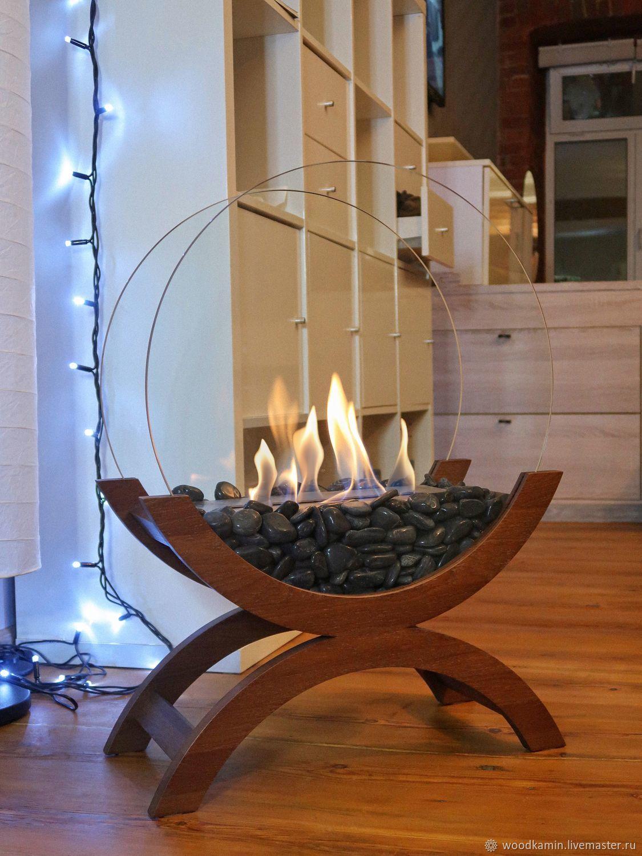 Bio-fireplace floor Lounge oak ' Mocha', Fireplaces, St. Petersburg,  Фото №1