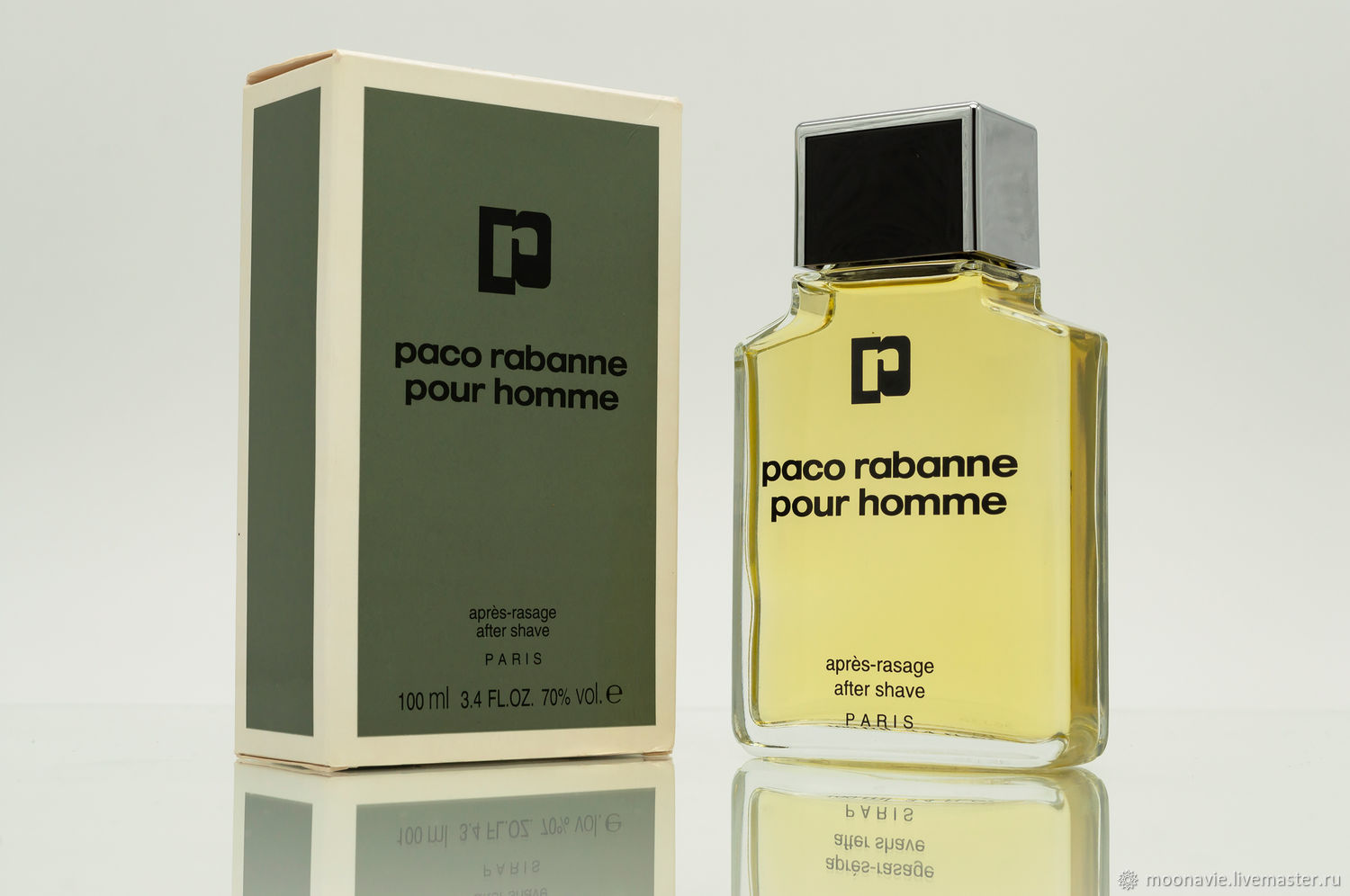 PACO RABANNE POUR HOMME (PACO RABANNE) shaving lotion 100 ml VINTAGE, Vintage perfume, St. Petersburg,  Фото №1