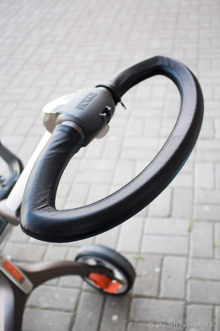 Накладка на ручку Stokke Xplory, Козырек для коляски, Санкт-Петербург,  Фото №1