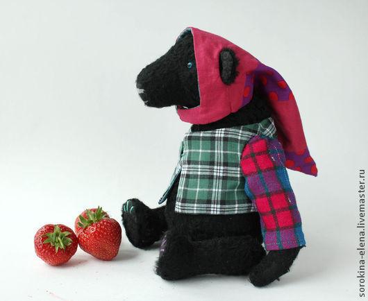 Мишки Тедди ручной работы. Ярмарка Мастеров - ручная работа. Купить Якоб. Handmade. Черный, медведь игрушка, вискоза