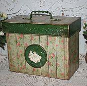 Для дома и интерьера ручной работы. Ярмарка Мастеров - ручная работа Большой короб для хранения.... Handmade.