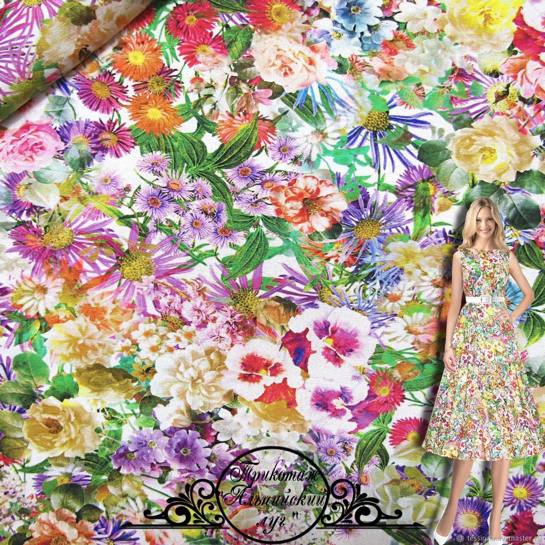 """Трикотаж Blumarine """"Альпийский луг"""" итальянские ткани, Fabric, Sochi,  Фото №1"""