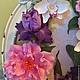 Интерьерные композиции ручной работы. Букет с ирисами и орхидеями в фоторамке. Гаяне Шахпарян. Ярмарка Мастеров. Подарок на любой случай, свадьба