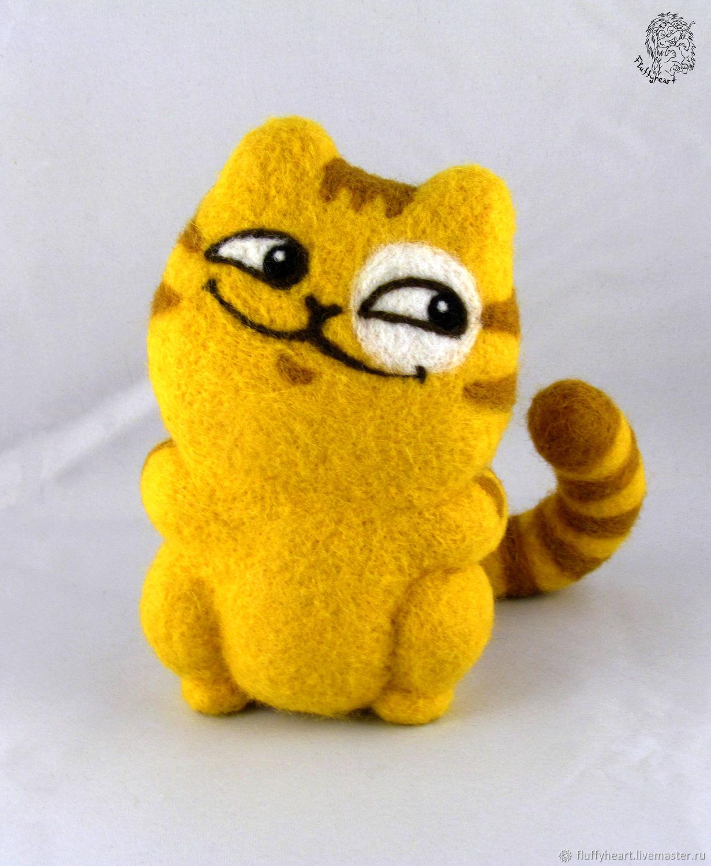 Cat Peach Is Tricky, Stuffed Toys, St. Petersburg,  Фото №1