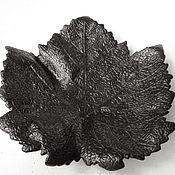 Винтаж handmade. Livemaster - original item Rare Maple Leaf Ashtray antique 1958 Cast iron Kasli Casting. Handmade.