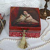 Для дома и интерьера handmade. Livemaster - original item Box waiting. solid pine. Handmade.