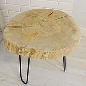 Столы ручной работы. Ярмарка Мастеров - ручная работа Стол из спила дерева / стол лофт от Lofteco. Handmade.