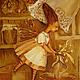 Фантазийные сюжеты ручной работы. Ярмарка Мастеров - ручная работа. Купить Липовый чай (кухонная феечка).Картина маслом. Handmade.