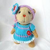 Куклы и игрушки ручной работы. Ярмарка Мастеров - ручная работа Мишка Любочка. Handmade.