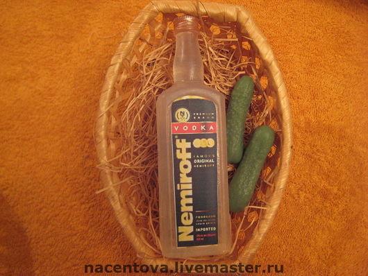 """Мыло ручной работы. Ярмарка Мастеров - ручная работа. Купить Набор мыла """"Бутылочка водки"""". Handmade. Разноцветный, мыло сувенирное"""