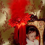 """Аксессуары ручной работы. Ярмарка Мастеров - ручная работа Шляпка """"Ягодка малинка"""".. Handmade."""