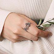 Украшения handmade. Livemaster - original item Ring in sterling silver. Handmade.