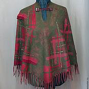 """Одежда ручной работы. Ярмарка Мастеров - ручная работа Пончо """" Гергети"""" войлок. Handmade."""