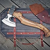 Сувениры и подарки handmade. Livemaster - original item Hand-made axe
