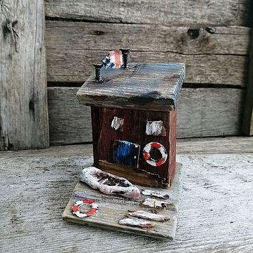 Для дома и интерьера ручной работы. Ярмарка Мастеров - ручная работа Домик у моря 3, Дрифтвуд. Handmade.