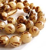 Материалы для творчества handmade. Livemaster - original item Beads the seeds of palm trees Storms 10mm. Handmade.
