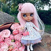 Кастом ручной работы. Ярмарка Мастеров - ручная работа Куколка Блайз с розовыми волосами, по имени Хлоя (кастом). Handmade.